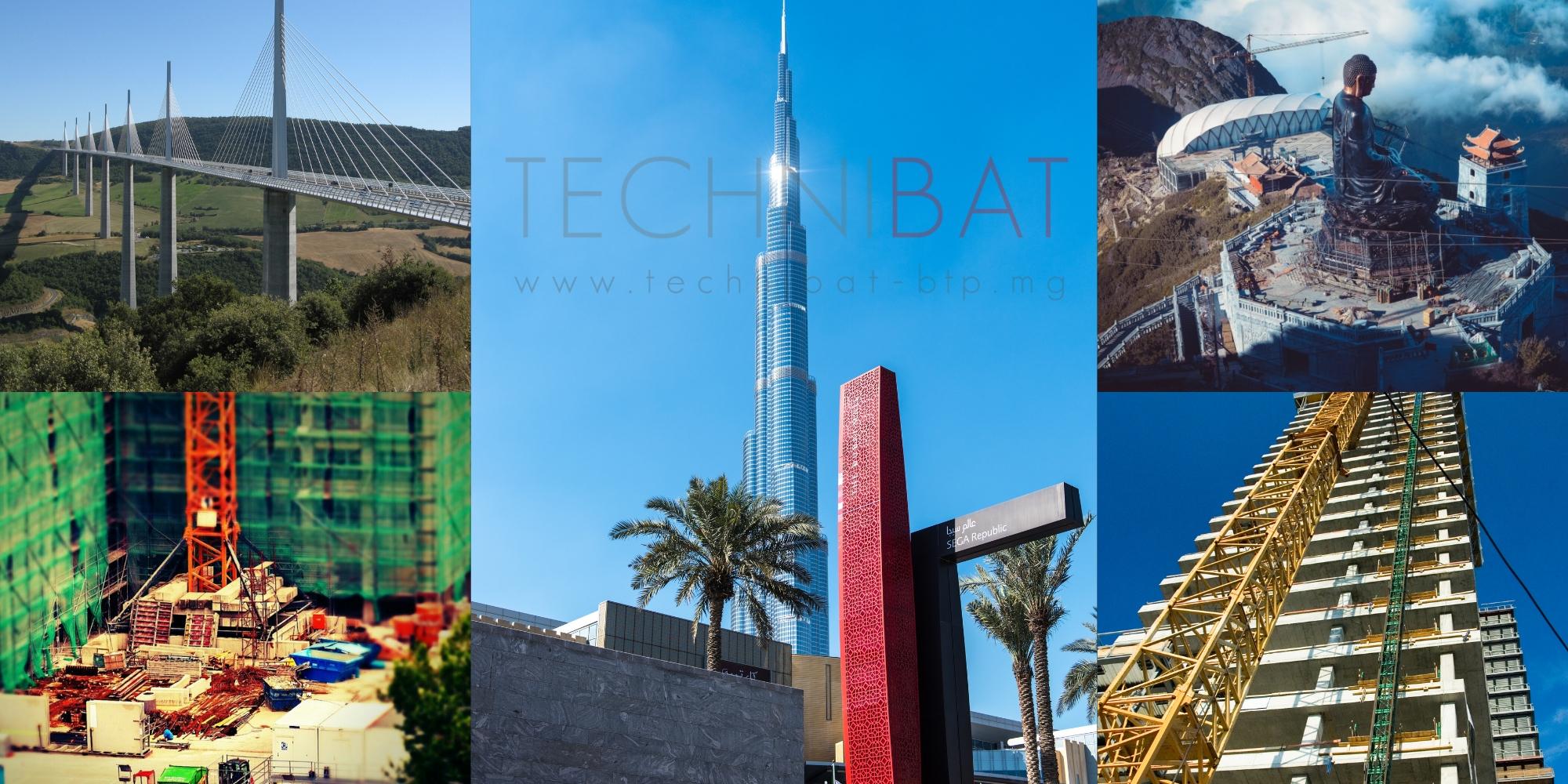 Les 9 constructions les plus impressionnantes du monde