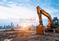 travaux de terrassement pour construction industrielle - Technibat