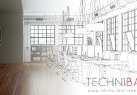 Rénovation intérieure de bureaux - Technibat